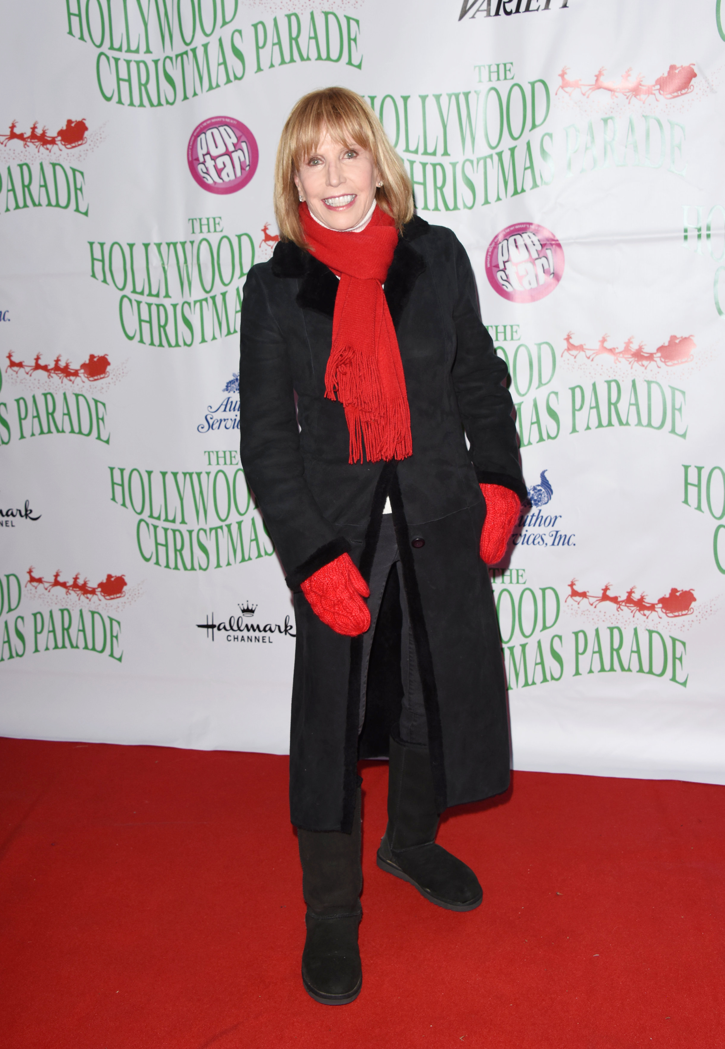 Leslie Charleson attends the 88th annual Hollywood Christmas Parade on December 01, 2019 in Hollywood, California© Jill Johnson/jpistudios.com310-657-9661