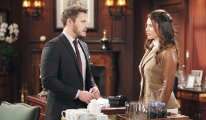 Liam wants Steffy's help BOld and Beautiful