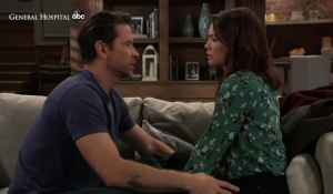 Liz tells Franco about Kim at home General Hospital
