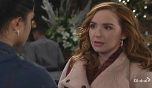 Mariah warns Lola Young and Restless