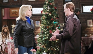 Marlena talks with Roman on Days of our Lives