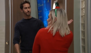 Maxie surprises Peter at General Hospital