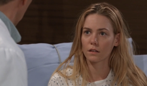 Nelle listens to Brad's lecture at General Hospital
