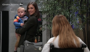Nelle corners Willow and Wiley at General Hospital