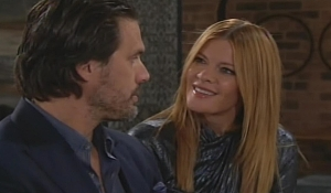 Nick questions Phyllis Young and Restless