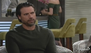 Nick talks with Phyllis Young and Restless