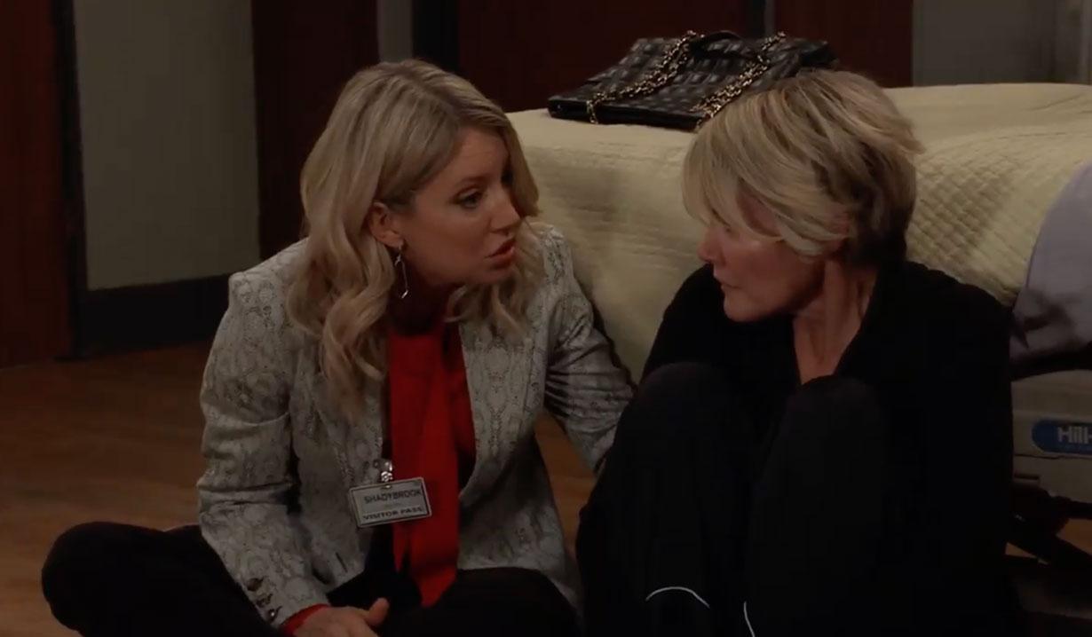 Nina visits Ava on General Hospital