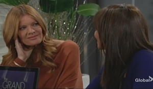 Phyllis Amanda drinks Young and Restless