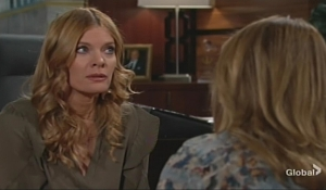Phyllis upset at Jabot Young and Restless
