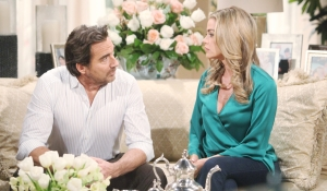 Ridge and Shauna discuss his marriage Bold and Beautiful