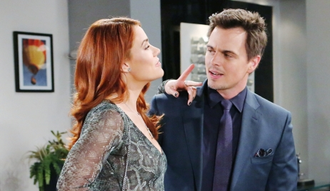 Sally points finger at Wyatt Bold and Beautiful