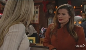 Chelsea updates Sharon Young and Restless