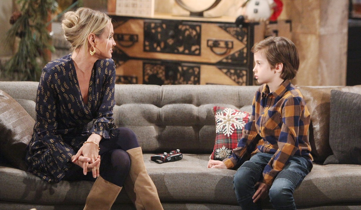 Sharon confront Connor Young and Restless