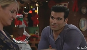 Rey advises Sharon Young and Restless
