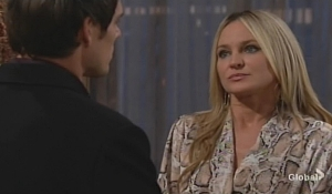 Sharon warns Adam Young and Restless