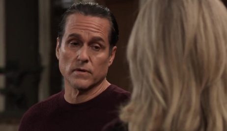 Sonny questions Carly about Jax General Hospital