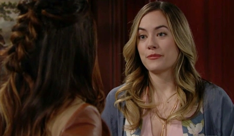 Hope tells Steffy game on Bold and Beautiful