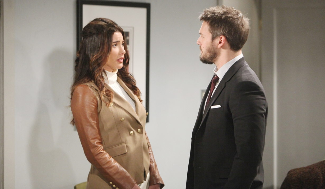 Steffy and Liam discuss Zoe Bold and Beautiful