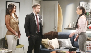 Steffy and Liam run into Zoe Bold and Beautiful