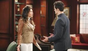 Steffy argues with Thomas Bold and Beautiful