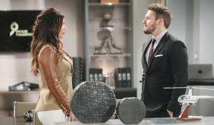 Steffy visits Liam Bold and Beautiful