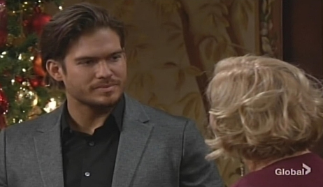 Theo and Traci traditions Young and Restless