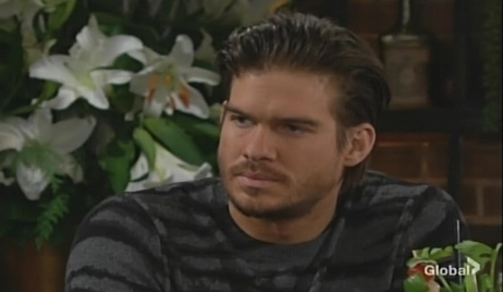 Theo accused by Summer Young and Restless
