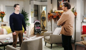 Thomas is confronted by Ridge Bold and Beautiful