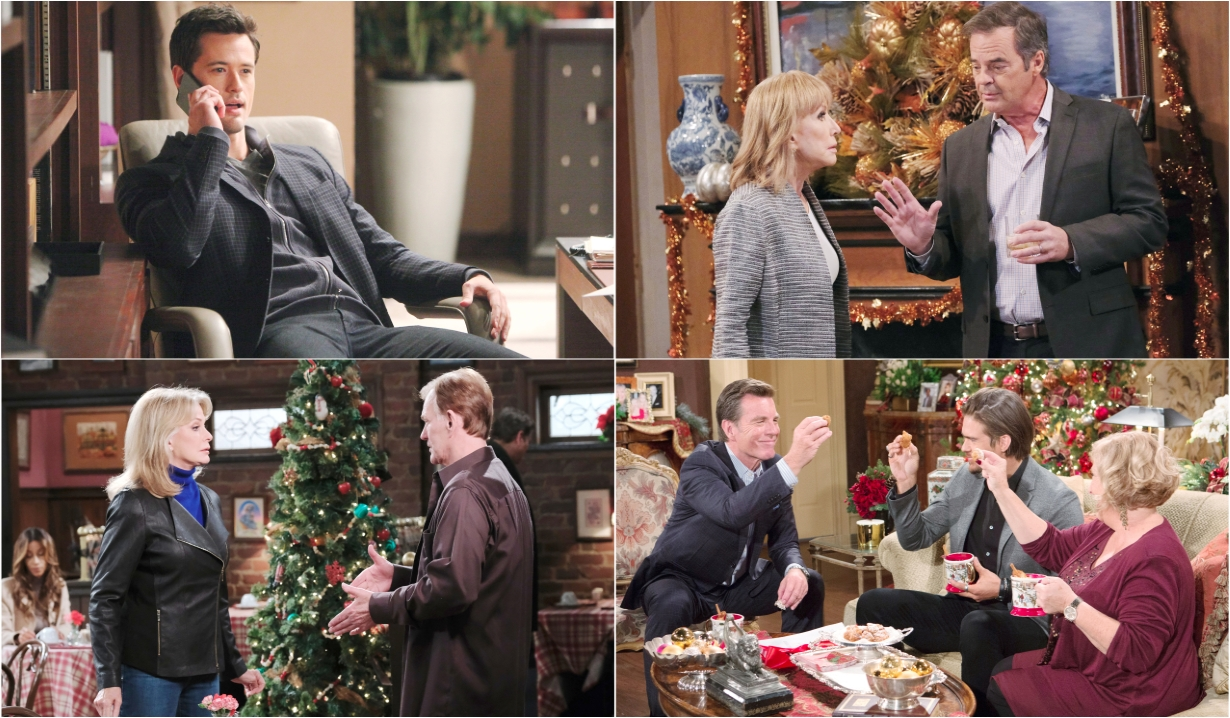 12-23-19 spoilers for bold and beautiful days of our lives general hospital young and restless