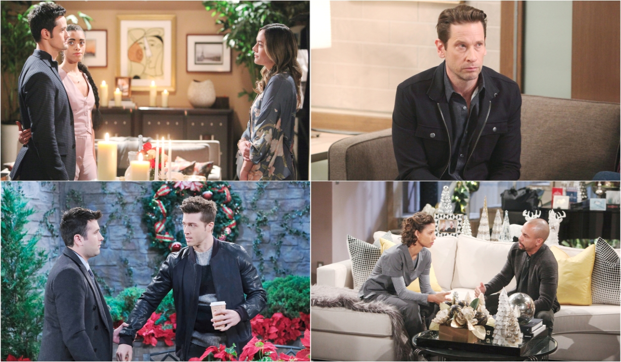 12-16-19 spoilers for bold and beautiful days of our lives general hospital young and restless