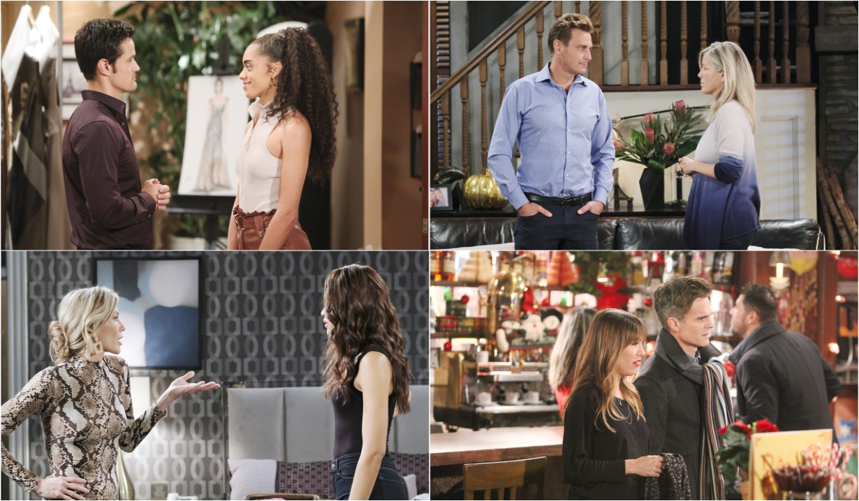 12-30-19 spoilers for bold and beautiful days of our lives general hospital young and restless