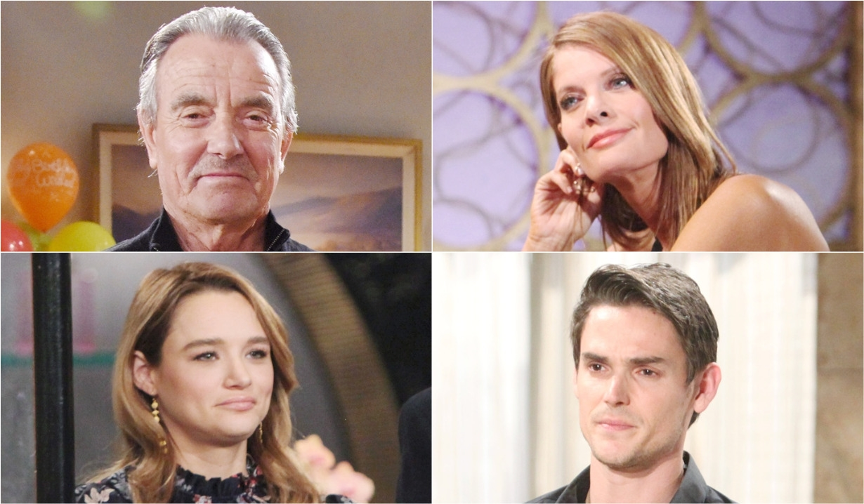 Victor Newman, Summer Newman, Phyllis Summer, Adam Newman tragically boring on Young and Restless