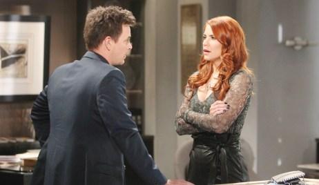 Wyatt and Sally debate Bold and Beautiful