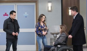 Alexis in wheelchair on General Hospital
