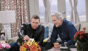 Brady and John think Stefano sent flowers days of our lives