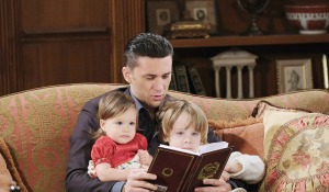 chad reads Christmas story kids days of our lives