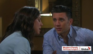 chad and abby talk hope hiding something days of our lives