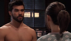 Chase has to cancel plans with Willow on General Hospital.