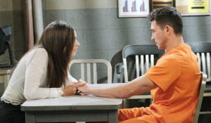 ciara visits ben prison days of our lives