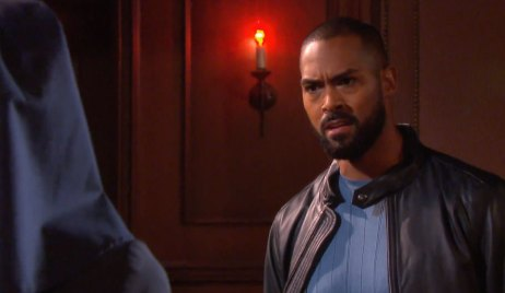 Eli discover Lani in a habit on Days of our Lives