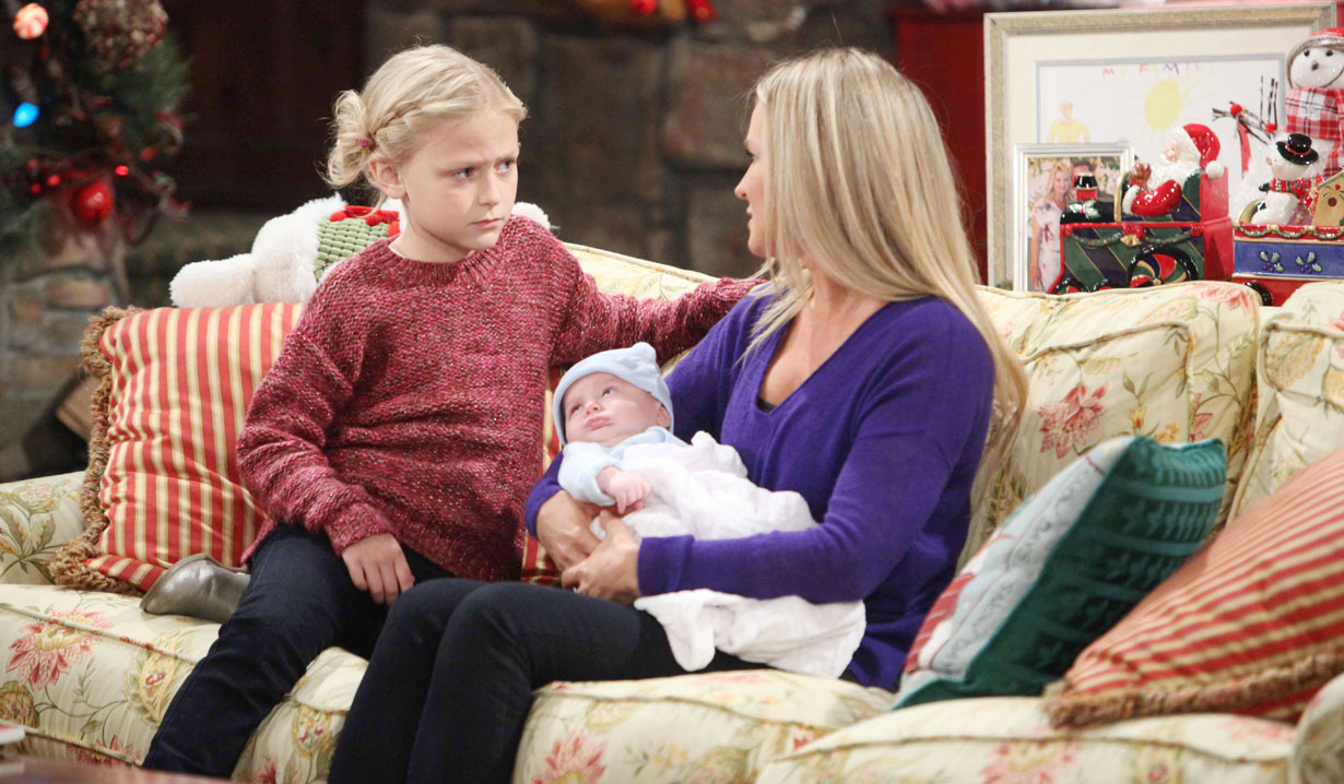 faith with sharon and sully young and restless