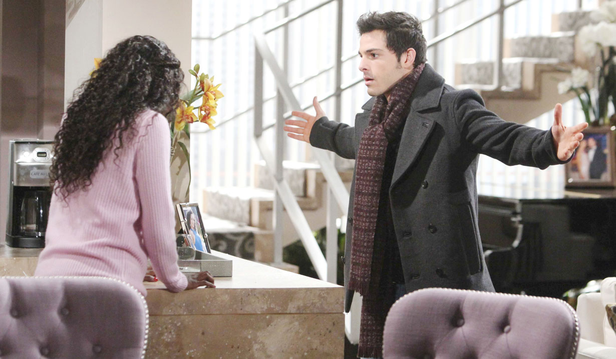 fen frustrated with ana Young and Restless