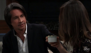 Finn worries about Violet on General Hospital