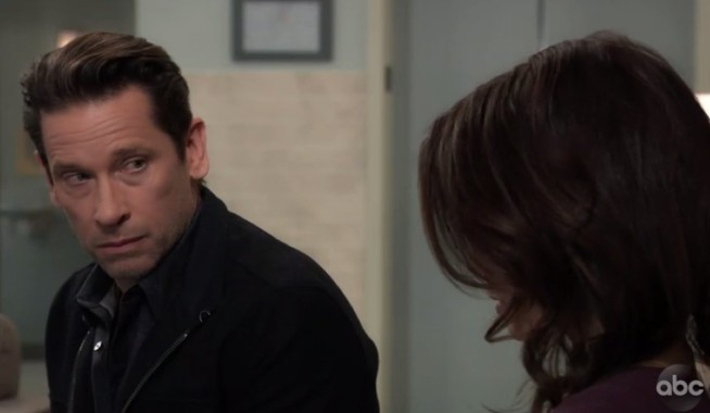 Franco and Liz prepare for his procedure on General Hospital