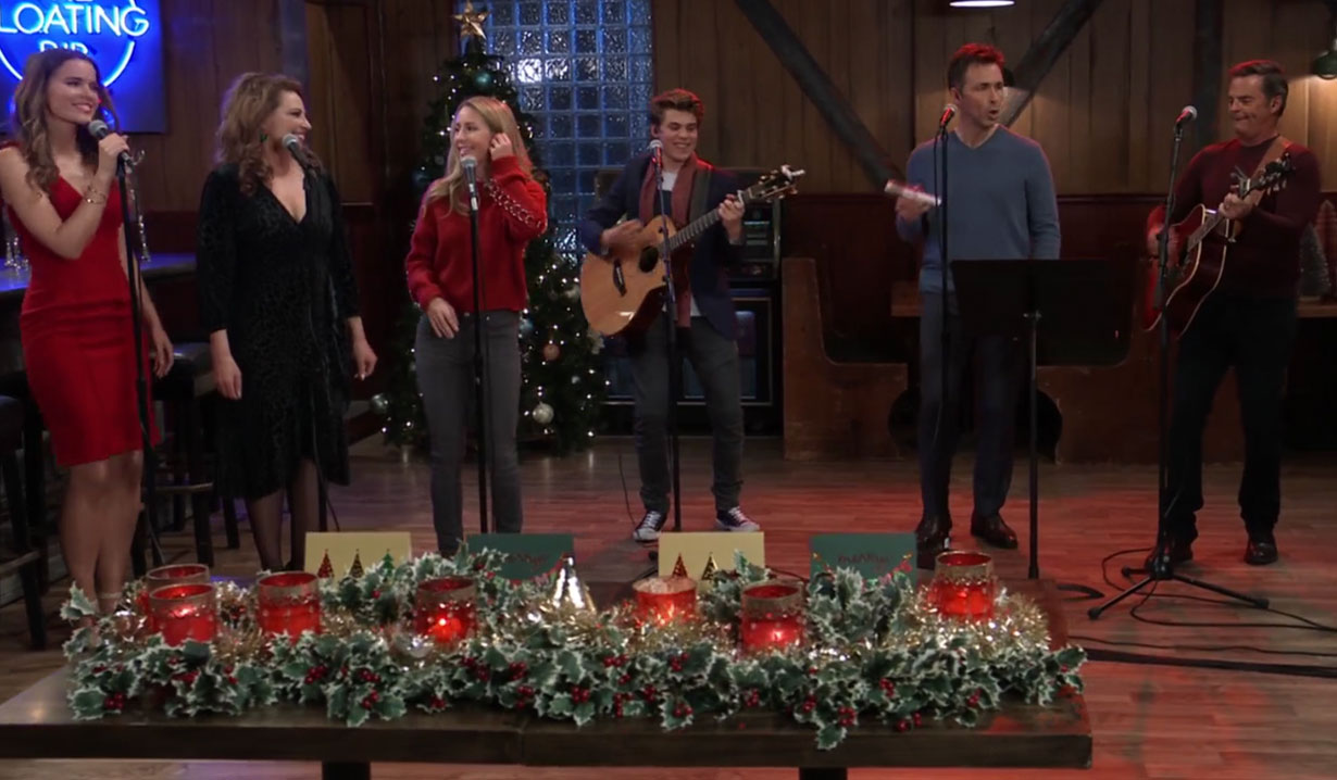 general hospital casts holiday concert