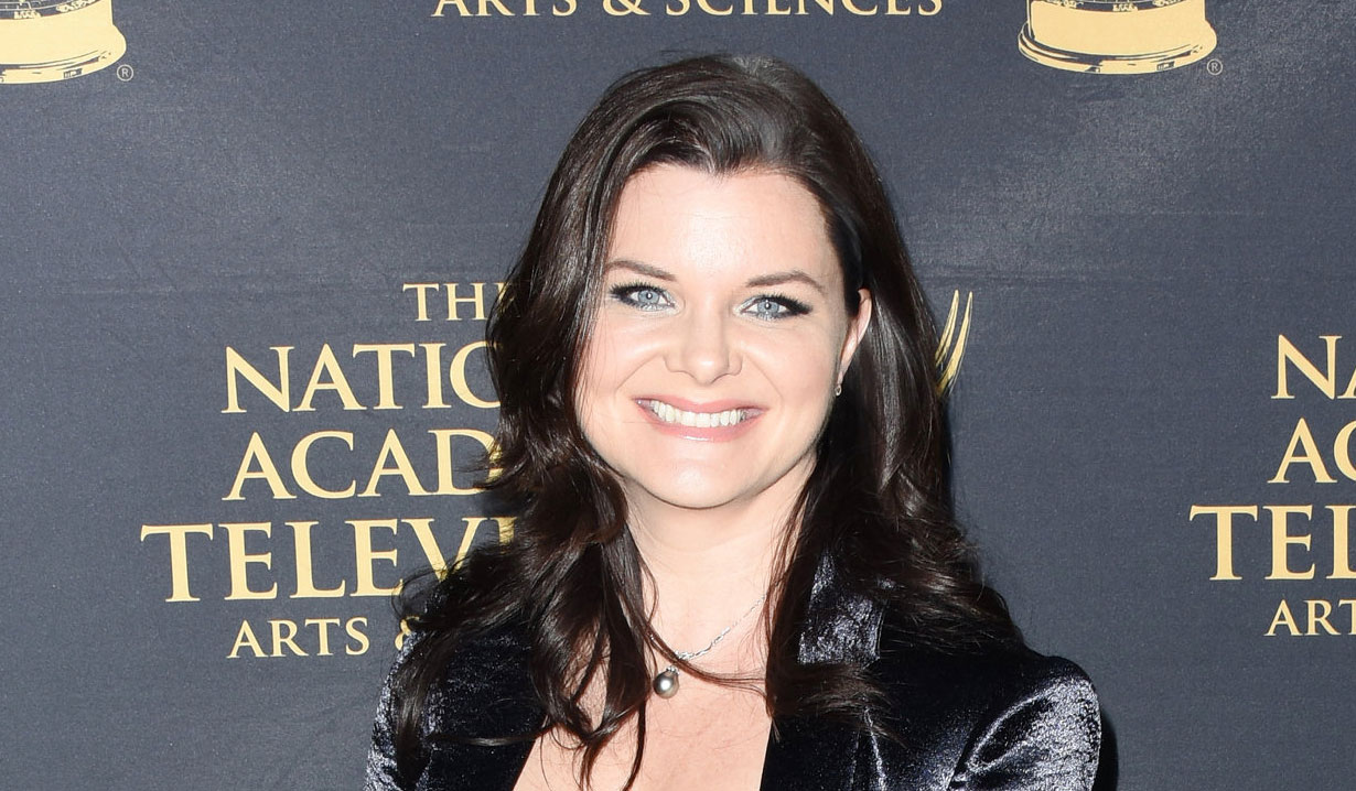 Heather Tom of Bold and the Beautiful