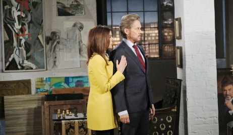 hope as gina with steve as stefano days of our lives