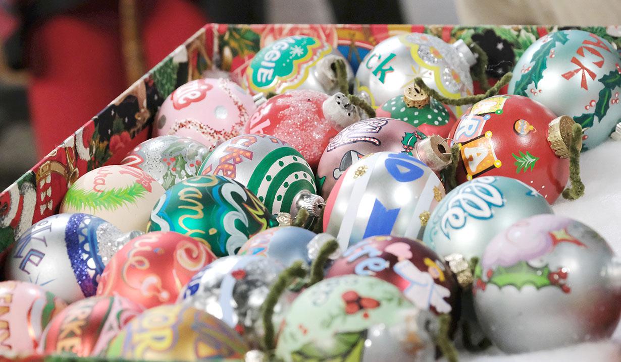 Horton Christmas tree balls