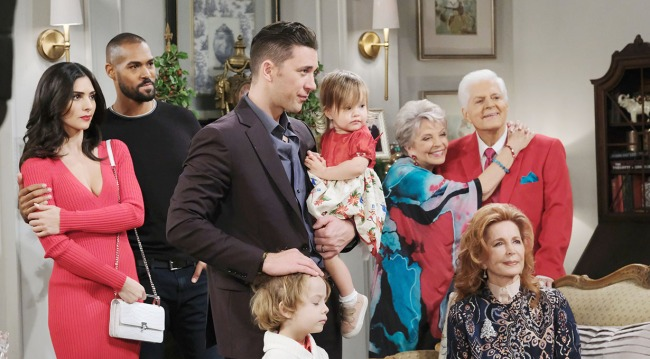 horton family at Alice's days of our lives