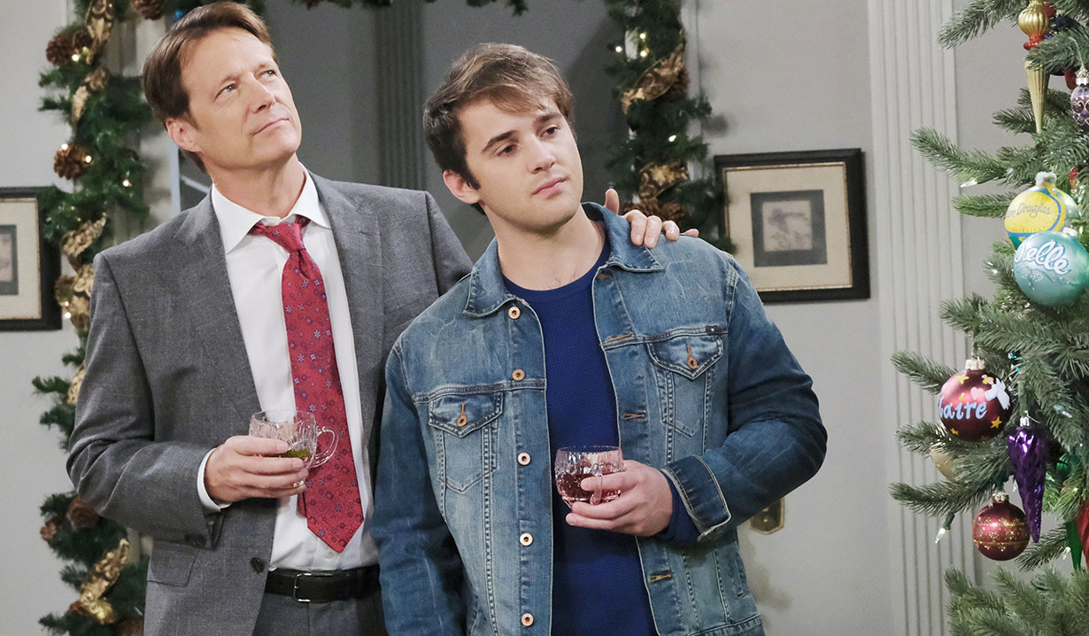 JJ and Jack at Christmas Days of our Lives